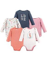 Baby Long Sleeve Bodysuit 5 Pack