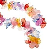 Silk N Petals Parti-Color Garland (multi-color) Party Accessory  (1 count) (1/Pkg)