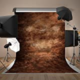 Brown Old Master Backdrop for Photography Studio Video Shooting 5x7 Vinyl Fabric Photo Background for Photographer