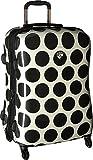 Heys America Unisex Spotlight 26'' Spinner Black/White Luggage
