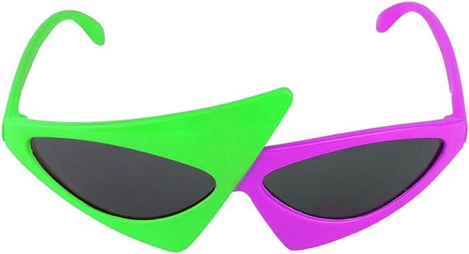 TiaoBug Gafas Disfraz Graciasas para Fiesta Música Halloween ...