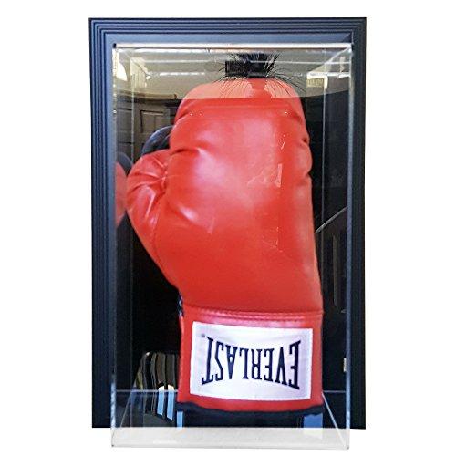 (Caseworks Single Stand Up Glove Case-Up Display Case - Black Frame)