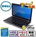 DELL Latitude E6230 [P14T] -32bit Core i5 2.7GHz 4GB 320GB 12.5インチ(B0622N004)