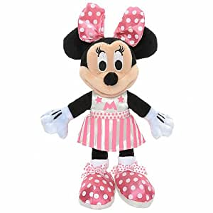 Minnie Mouse Bowtique 6 inch Mini Plush - Pink Cheerleader