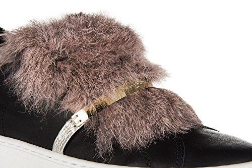 Philippe Original On In Noir Sneakers Femme Night Cuir Slip Model Bombay Nuove gqg8wBUR
