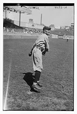 Vintography Photo: Jack Farmer,Cleveland American League,Baseball,Athletes,Fields,Uniforms,Stands
