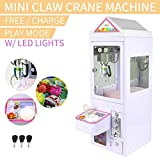 LAKAGO Crane Claw Machine Candy Toy Grabber Catcher for Carnival Charge Play Mall and Home 110V