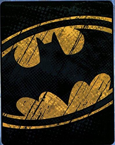 Batman 'Emblem' Silk Touch Throw Blanket - Soft and Warm (Batman Plush Pillow)