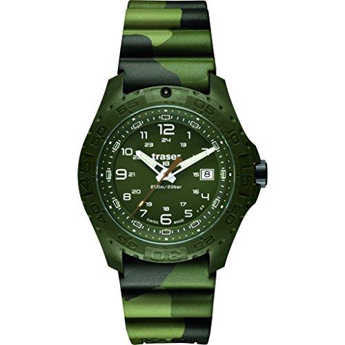 traser H3 Soldier Sapphire Watch - Green - Nato