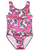 Kyпить Jxstar Teen Girl One Piece Swimsuits Unicorn Kid Beach Wear Cross Back Swimwear на Amazon.com