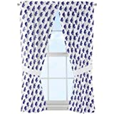 NCAA Kansas State Wildcats ''Mascot'' Window Curtain Panels - Set of 2 - 36'' x 48''