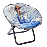 Disney Frozen 2 Elsa Saucer Chair, White