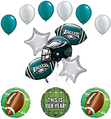 Amazon Com Mayflower Products Philadelphia Eagles Football Party
