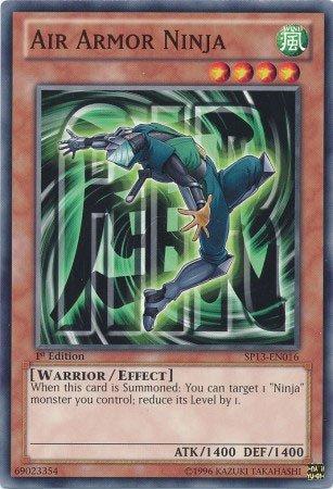 yugioh air armor ninja - 7