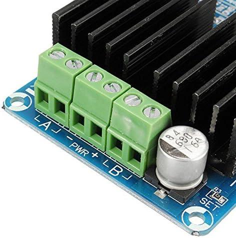 Dicrey 50A Dual-Channel Motor Driver Module Car Driver Module H Bridge Controller Board for Arduino Current Limit