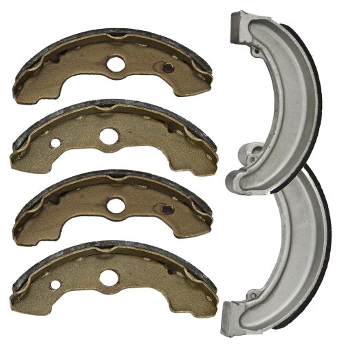 Front and Rear Brake Shoes for Honda TRX 300 FW (4wd Front Brake)