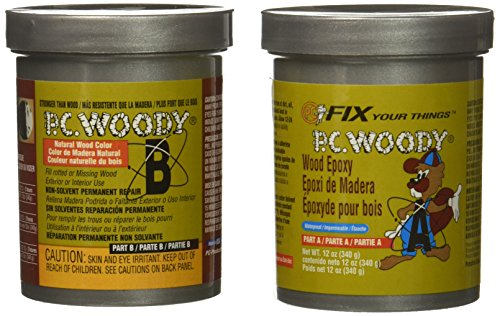 - Protective Coatings 18434 12 oz. PC-Woody Epoxy Paste