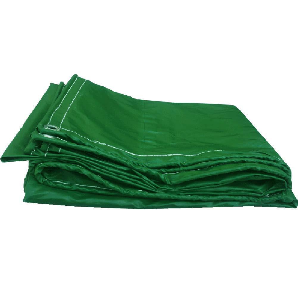 YHUJH Wasserdichte Plane Sonnencreme Schatten Auto Gummi Plus Dicke Plane, Grün Eine Vielzahl von Spezifikationen (Größe   3  5cm)
