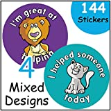 Good Helper reward stickers, teacher, children praise for good behaviour/work by Ezstickers
