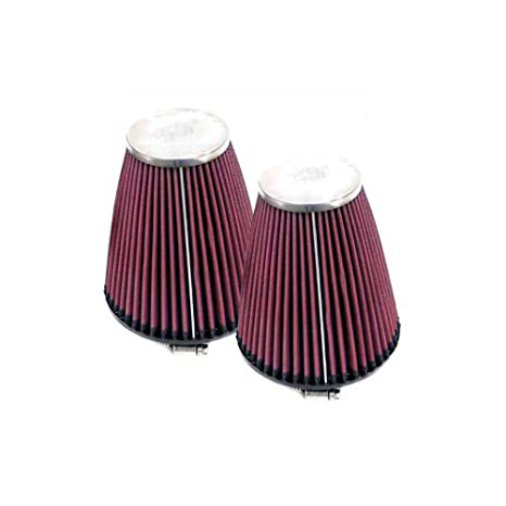 """RC-1250 K/&N Universal Round-Tapered Air Filter 2 1//4/"""" 57MM Flange"""