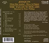 Josquin: Missa Sine Nomine /  Missa Ad fugam