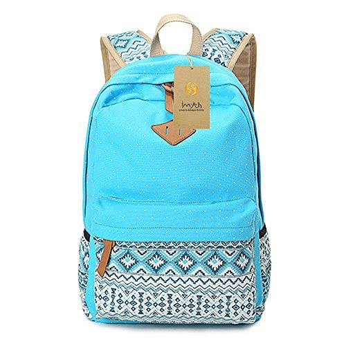 imyth-bohemia-cute-backpack-casual-school-bag-daypack-travel-bag-for-girls-lake-blue-