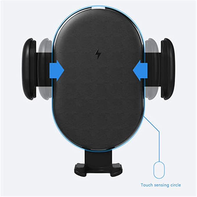 Coche Soporte de navegación móvil 15w Cargador inalámbrico ...