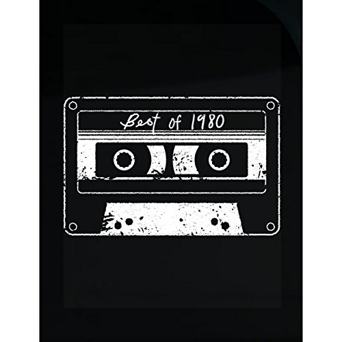 Best 1980's Costumes (Best Of 1980 80s Music Mix Tape Dj Cassette Vintage Retro - Sticker)