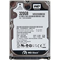 Western Digital Black WD3200BEKX 2.5in 320GB SATA 6.0Gb/s 7200RPM Hard Drive - Refurbished
