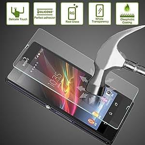 Protector pantalla cristal templado anti golpes para Sony Xperia Z L36hTEMPLADO TUPRECIONLINE®