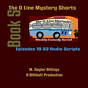 The O Line Mystery Shorts, Book 5 Audiobook