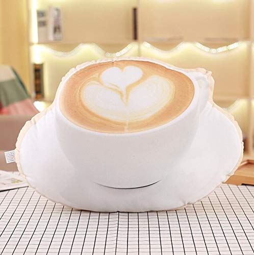 WATOP Stuffed Animals - Teddy Bears | 3D Simulation Food Shape Plush Pillow Creative Cake Coffee Beer Plush Toys Stuffed Sofa Cushion Home Decor Funny Gifts for ()
