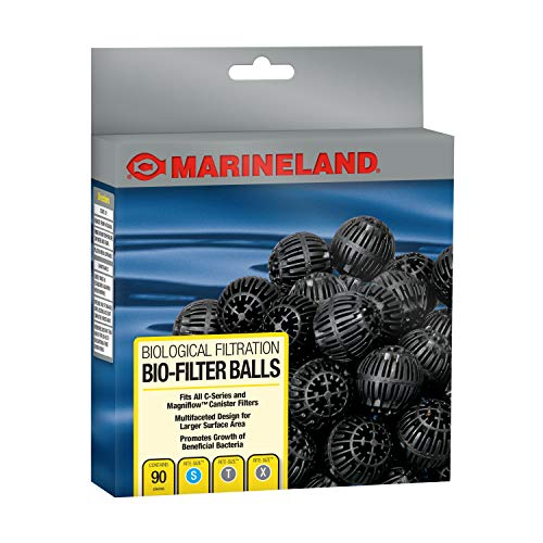 Marineland PA11486 Canister Filter Bio-Balls for C-Series Filters, 90-Count ()