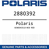 Genuine Pure Polaris Snowmobile AXYS Mid Windshield Red pt# 2880392