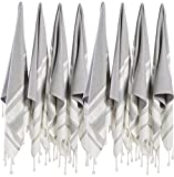 (SET of 8) Turkish Cotton Hand Face Head Guest Gym