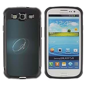 Suave TPU GEL Carcasa Funda Silicona Blando Estuche Caso de protección (para) Samsung Galaxy S3 III I9300 / CECELL Phone case / / Ring Lord Grey Ufo Disco /