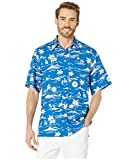 Reyn Spooner Men's Los Angeles Dodgers MLB Classic Fit Hawaiian Shirt, Vintage 2019, Small