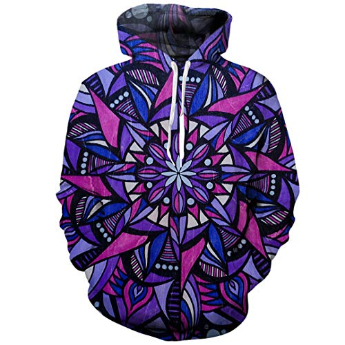 Abstrakte Geometrische Print 3D Hoodie Sweatshirt Manner Mode
