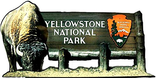 - Yellowstone National Park Fridge Magnet