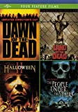 Horror 4-Pack (Dawn of the Dead / Land of the Dead / Halloween II / The People Under the Stairs)