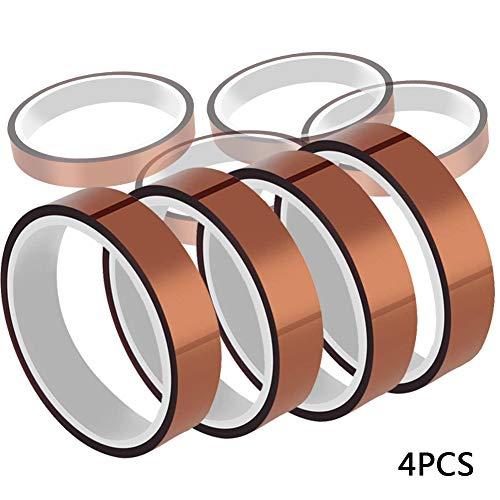 t Resistant Tape PI Film Insulation Tape Sublimation Dye Mug Electronic Polyimide Tape (3/8