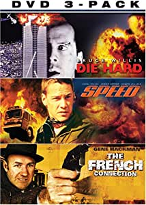 Police Action Giftset (Die Hard / Speed / The French Connection)