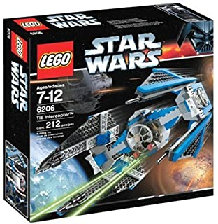 LEGO Star Wars TIE Interceptor dp BBVNRH