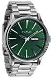 Green Sunray The Sentry SS Watch by Nixon
