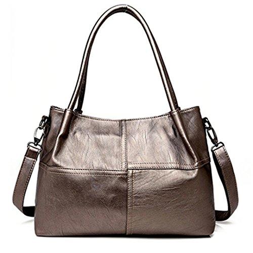 Women Bags Handbags Designer Handbags Leather Sewn Large Bag Woman Female Top-handle Bags Sac 37cm 26cm 22cm Main Brozen Brozen