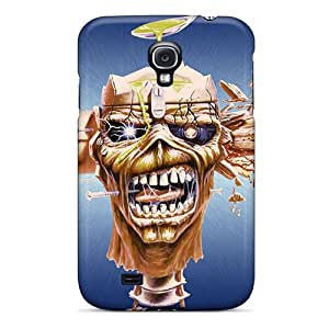 JsJ963jpaY Hotcat Awesome Case Cover Compatible With Galaxy S4 - Iron Maiden