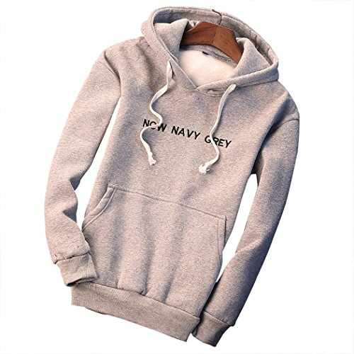 M-LORD (TM) Mens Leisure Active Jacket Hooded Sweatshirt Pullover Spring Outwear L/G US XXS