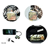 Bestok CV600 Micro USB Hub Connector Kit USB 2.0 Card Reader Trail Scouting Hunting Game Camera Photo Picture Viewer for Android Phones Tablets with OTG