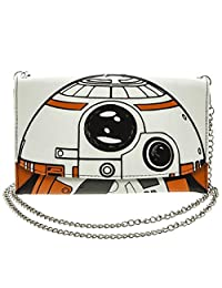 Official Star Wars Episode VII BB-8 Envelope Purse with Chain Evening Bag