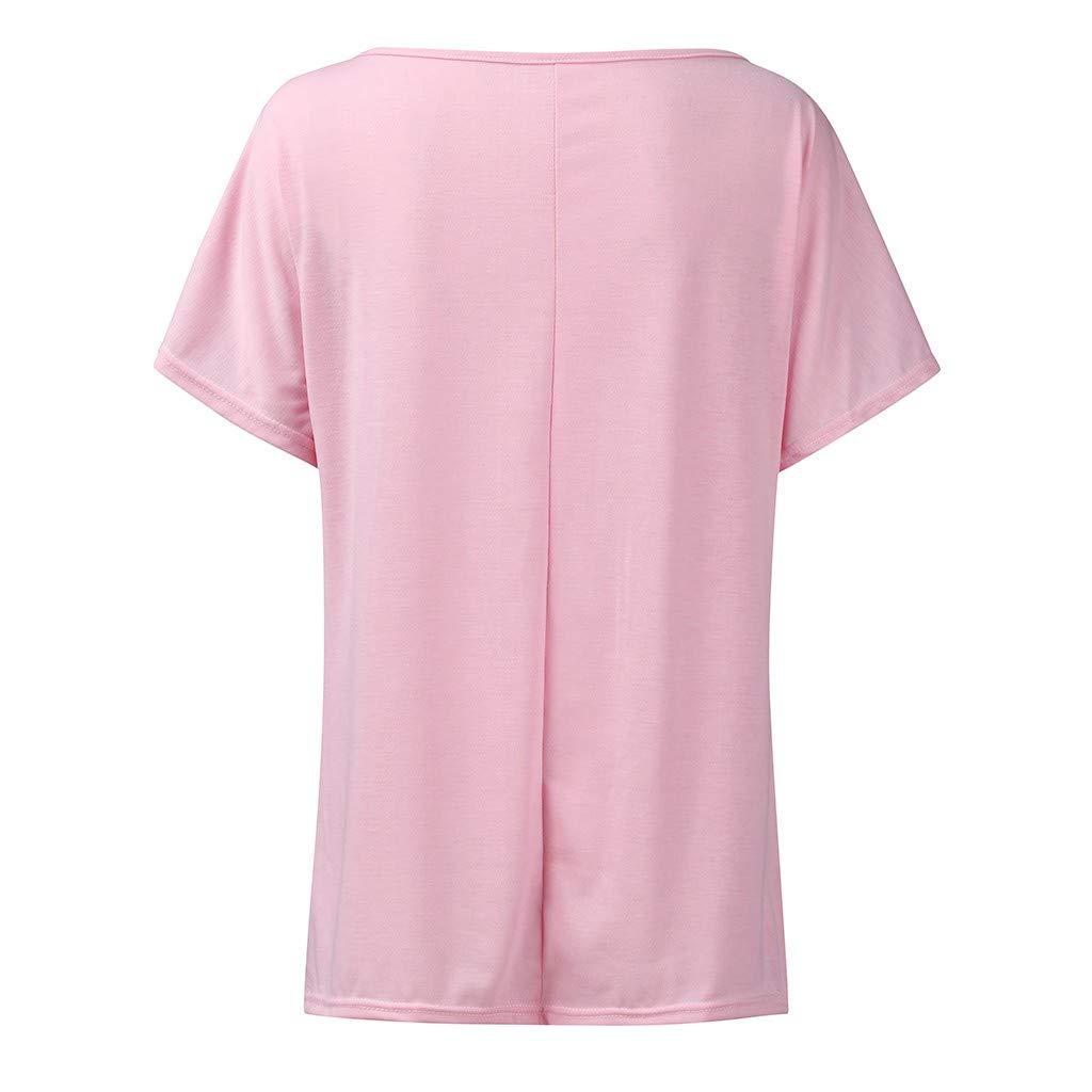 ღLILICATღ Camisetas de Mujer Camisa Manga Corta T-Shirts Imprimiendo de Hippie Soul Cuello Redondo Patr/ón Circular Slim Fit Hombro sin Tirantes Oficina Falda Abrigo Traje ba/ño Primavera Verano